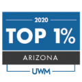 2020 United Wholesale Mortgage  Top 1% Producing Loan Officers for UWM in AZ