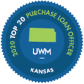 2020 United Wholesale Mortgage  2020 Top 20 Purchase Loan Officers with UWM in KS