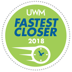 2018 UWM Fastest Close Award